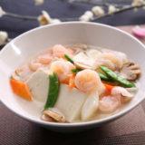 豆腐と海老の煮込み